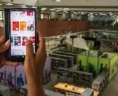 Portal de notícias destaca a Biblioteca digital, nossa plataforma de empréstimo de livros virtuais